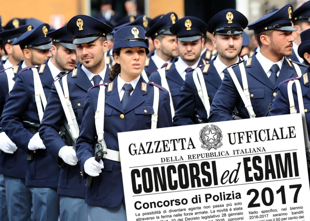 Concorso 1148 Agenti di Polizia di Stato: chi ha ottenuto almeno 6 ...